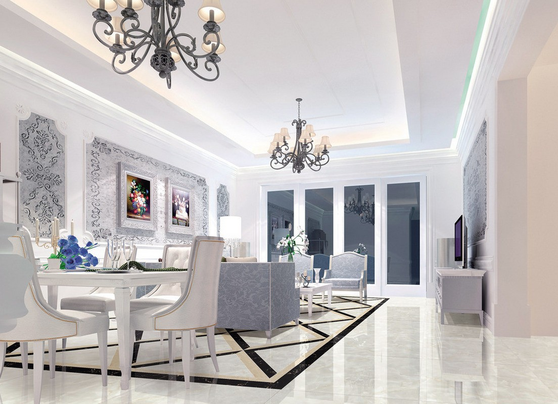 S a decor interior design toronto for Modern neoclassical interior design