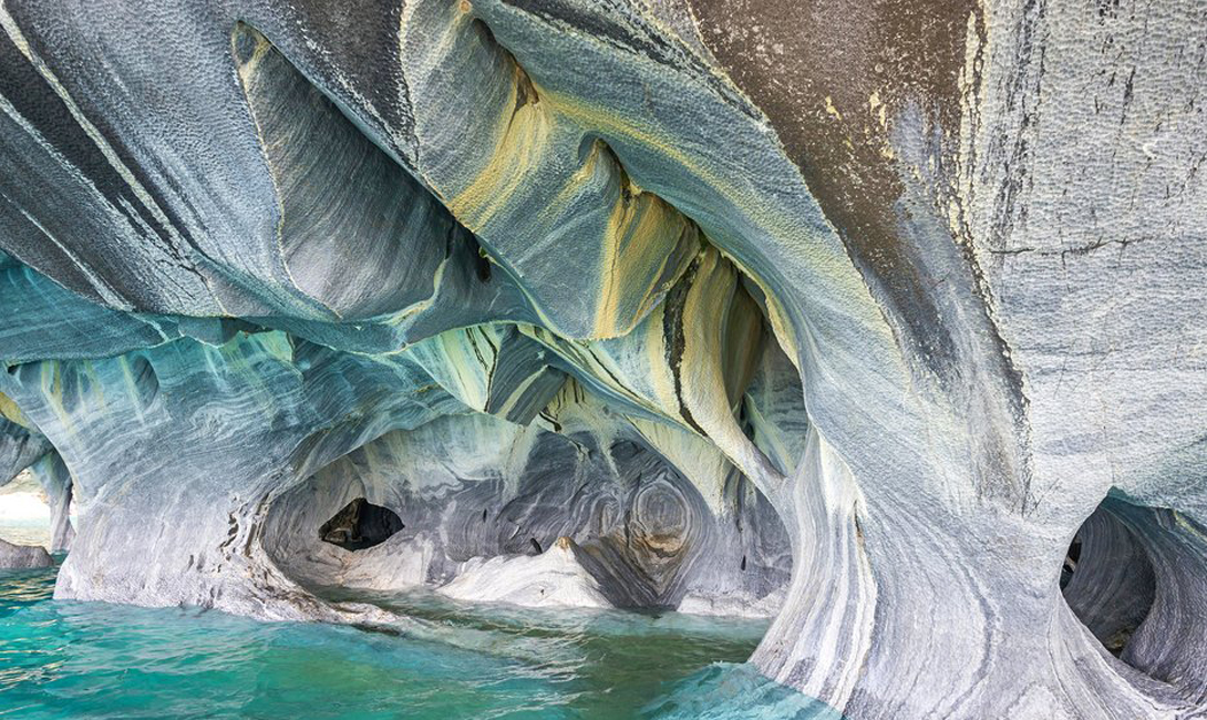 1. Marble Cave – Chile